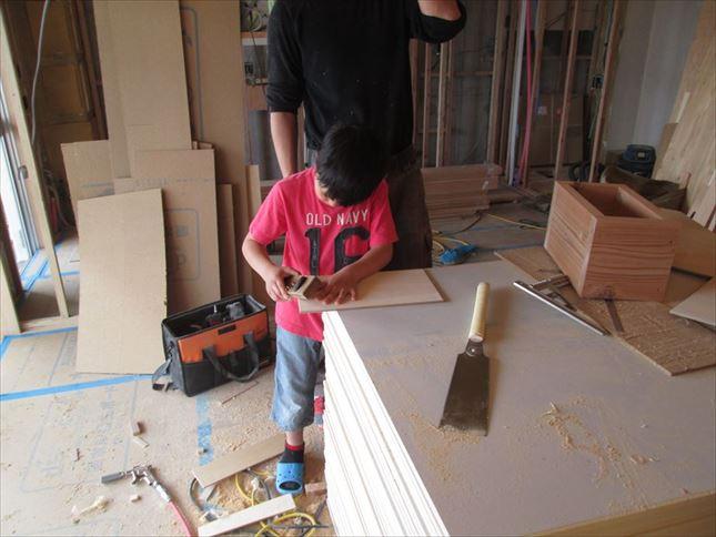 65 ハーバーランド 木のマンションリノベーション大工工事_R