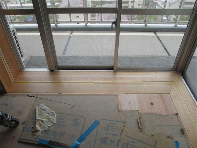 109 ハーバーランド 木のマンションリノベーション塗装工事_R