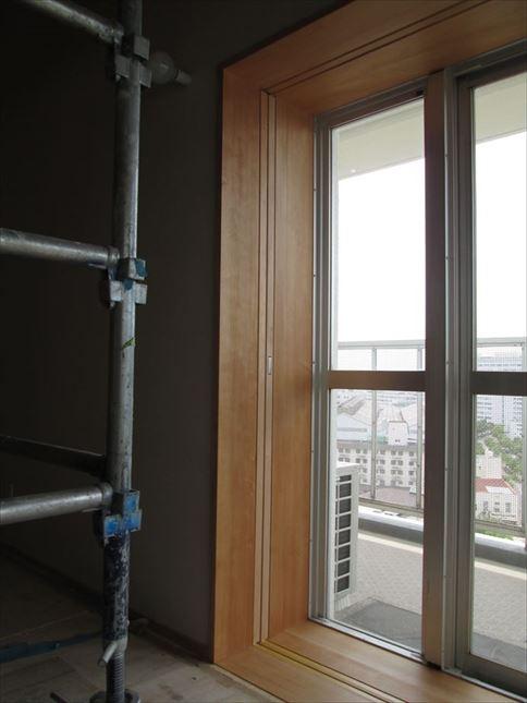 110 ハーバーランド 木のマンションリノベーション塗装工事_R