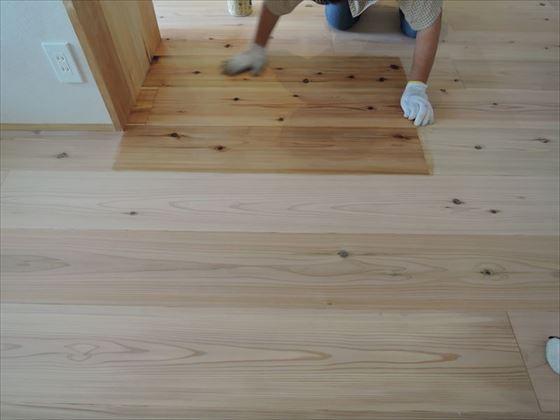 120 ハーバーランド 木のマンションリノベーション洗い工事_R