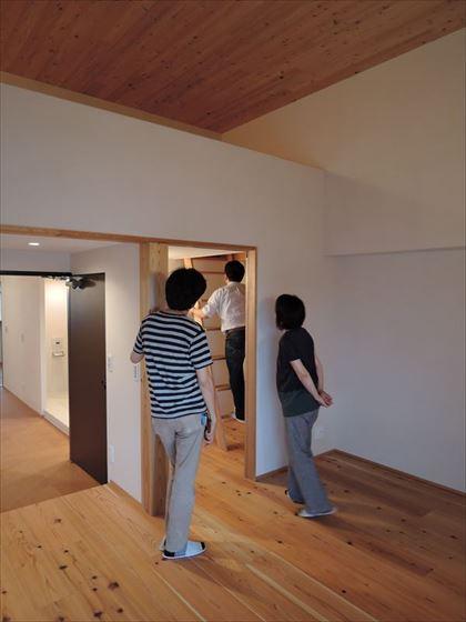 126 ハーバーランド 木のマンションリノベーション最終立会い検査_R