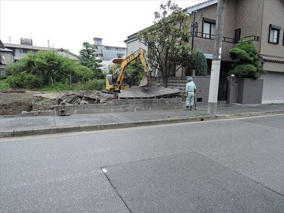 29 西宮H様邸ブロック解体