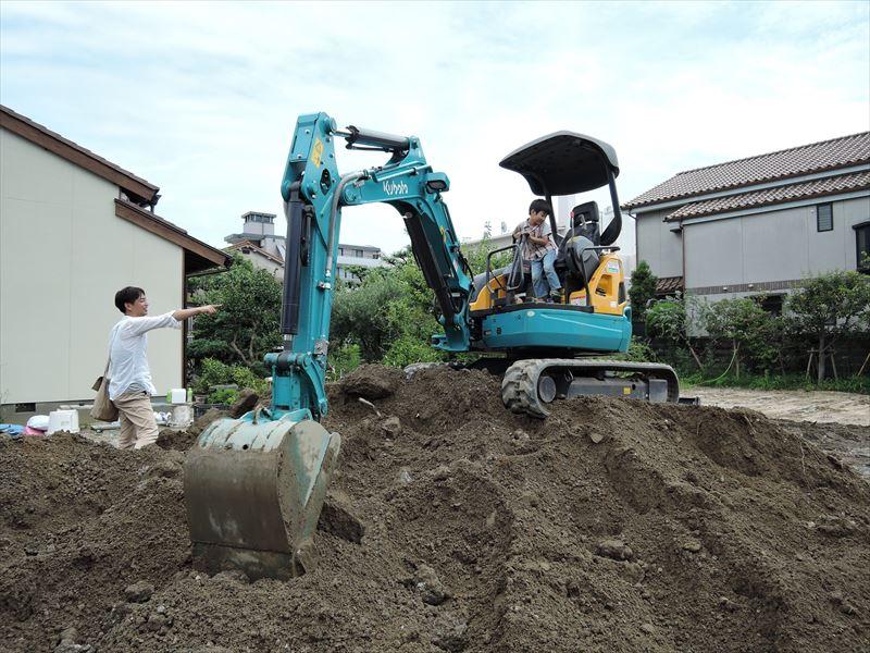 8 西宮H様邸基礎掘方