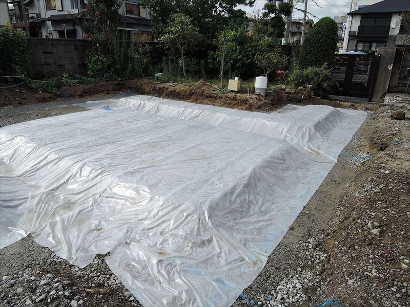 17 西宮H様邸基礎防湿シート