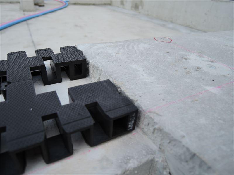 113 西宮H様邸基礎土台敷き