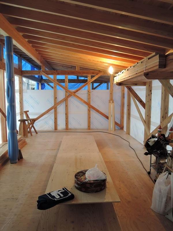 3 西宮H様邸木の家 新築 上棟式