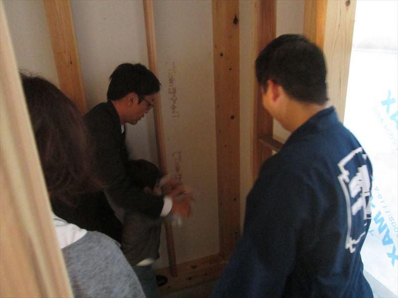 9  西宮H様邸木の家 新築 上棟式