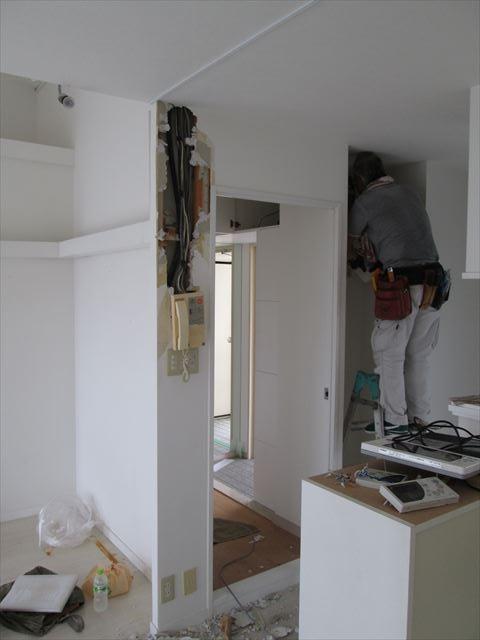 13 豊中 T様邸木のマンションリノベーション 解体