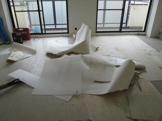 17 豊中 T様邸木のマンションリノベーション 解体