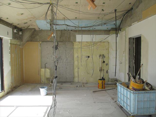 23 豊中 T様邸木のマンションリノベーション 解体
