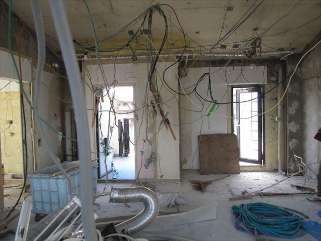 25 豊中 T様邸木のマンションリノベーション 解体