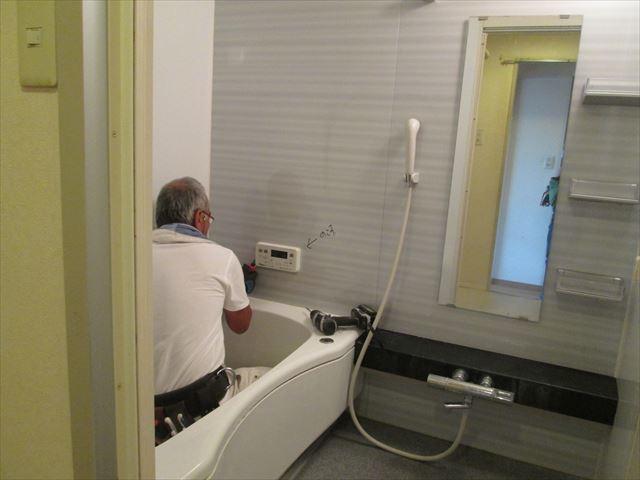 12 東三国のM様邸木のマンションリノベーション解体前電気