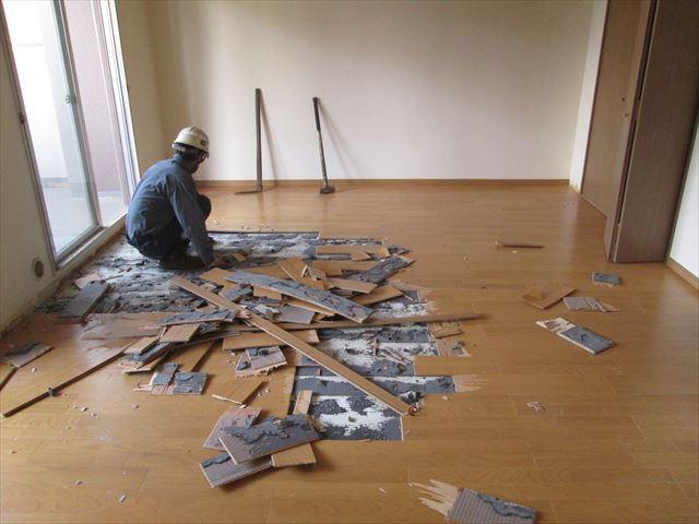 13 東三国のM様邸木のマンションリノベーション解体工事