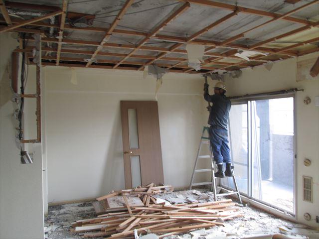 16 東三国のM様邸木のマンションリノベーション解体工事