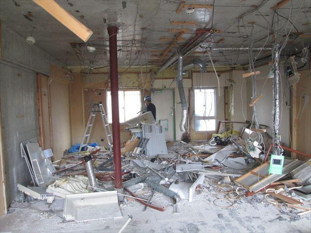 19 東三国のM様邸木のマンションリノベーション解体工事