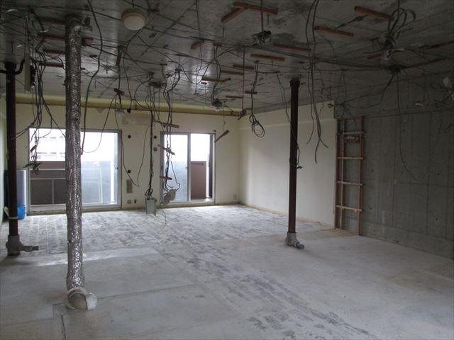 21 東三国のM様邸木のマンションリノベーション解体工事