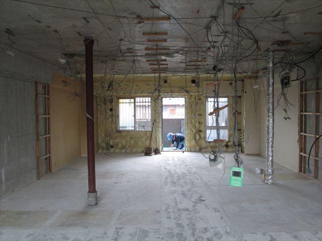 22 東三国のM様邸木のマンションリノベーション解体工事