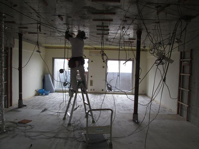 23 東三国のM様邸木のマンションリノベーション解体工事