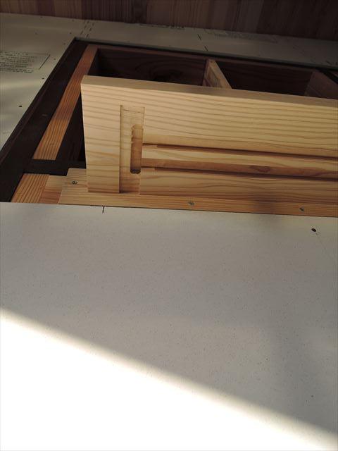 44 西宮H様邸木の家新築現場 木製窓枠加工