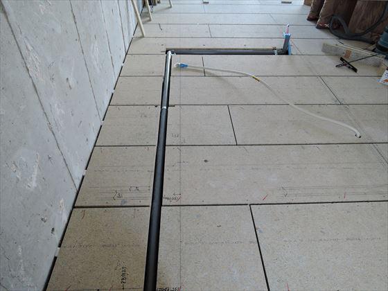 13 豊中T様邸木のマンションリノベーション 乾式二重床施工
