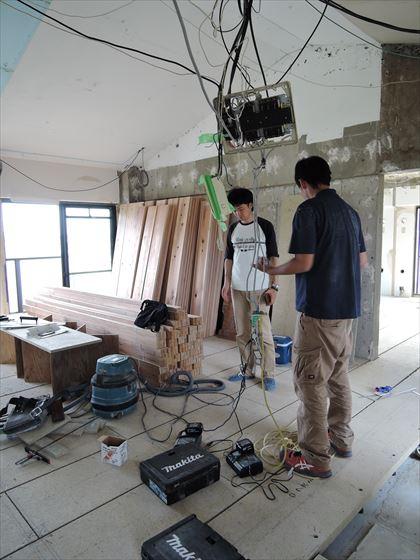 20 豊中T様邸木のマンションリノベーション 定例打ち合わせ