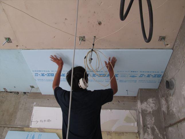 32 豊中T様邸木のマンションリノベーション 天井断熱材