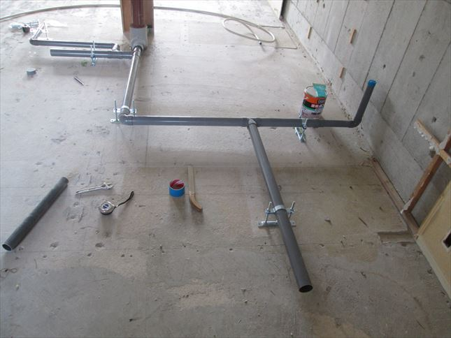 12 東三国のM様邸木のマンションリノベーション水道工事