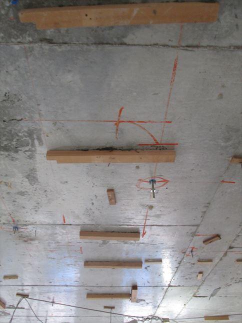25 東三国のM様邸木のマンションリノベーション天井下地