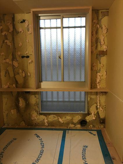 53 東三国のM様邸木のマンションリノベーション窓