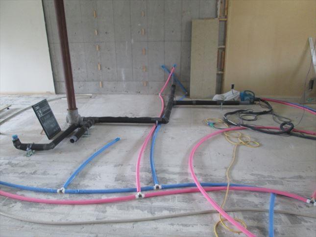 17 東三国のM様邸木のマンションリノベーション水道工事