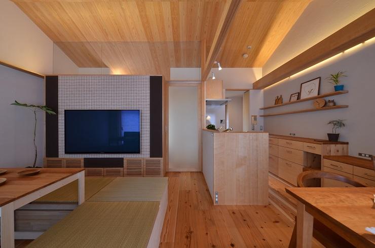 0 豊中 木のマンションリノベーション 完成写真