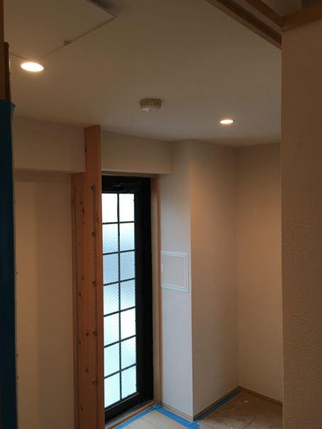 2 豊中 木のマンションリノベーション 照明器具