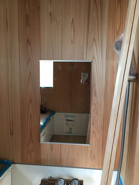 6 豊中 木のマンションリノベーション ガラス