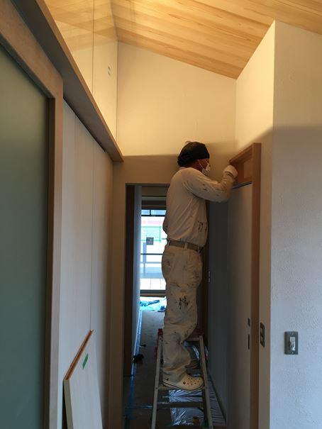 10 豊中 木のマンションリノベーション 塗装