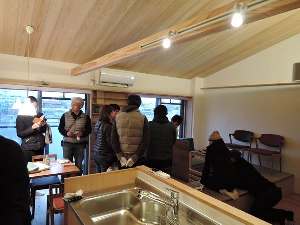 25 豊中 木のマンションリノベーション 完成お披露目会