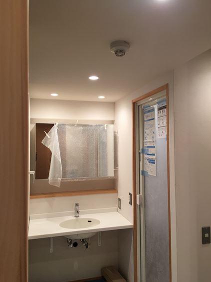 12 東三国のM様邸木のマンションリノベーション照明器具