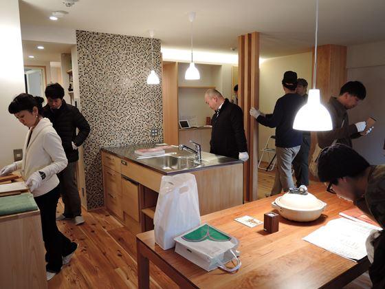 32 東三国のM様邸木のマンションリノベーションお披露目会