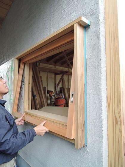 39 西宮H様邸外部木製建具