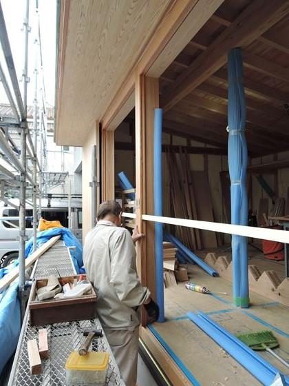 41 西宮H様邸外部木製建具