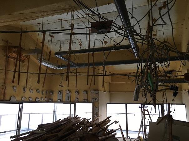 4  貝塚U様邸国産材を使用した木のマンションリノベーション 解体