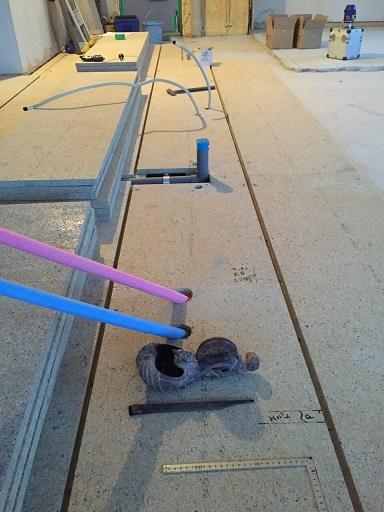 14 貝塚U様邸国産材を使用した木のマンションリノベーション 乾式二重床施工