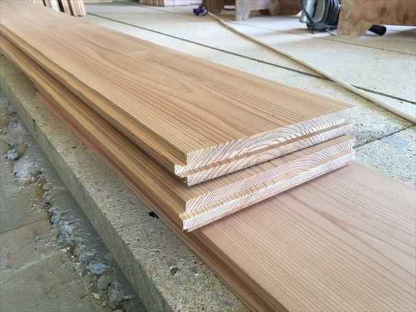 21 貝塚U様邸国産材を使用した木のマンションリノベーション 吉野杉搬入_R