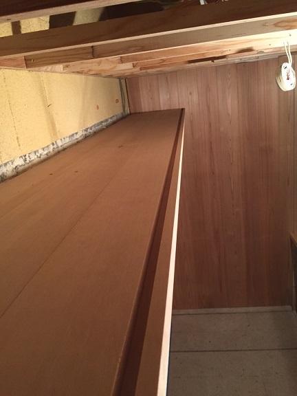 34 貝塚U様邸国産材を使用した木のマンションリノベーション 窓枠