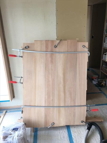 38 貝塚U様邸国産材を使用した木のマンションリノベーション 大工造作家具 _R