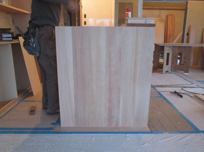 39 貝塚U様邸国産材を使用した木のマンションリノベーション 大工造作家具 _R