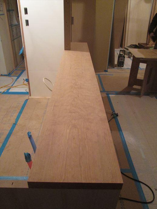 40 貝塚U様邸国産材を使用した木のマンションリノベーション 大工造作家具 _R
