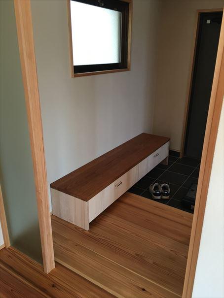 66 貝塚U様邸国産材を使用した木のマンションリノベーション 洗い工事_R