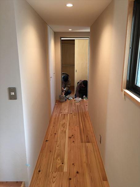69 貝塚U様邸国産材を使用した木のマンションリノベーション 洗い工事_R