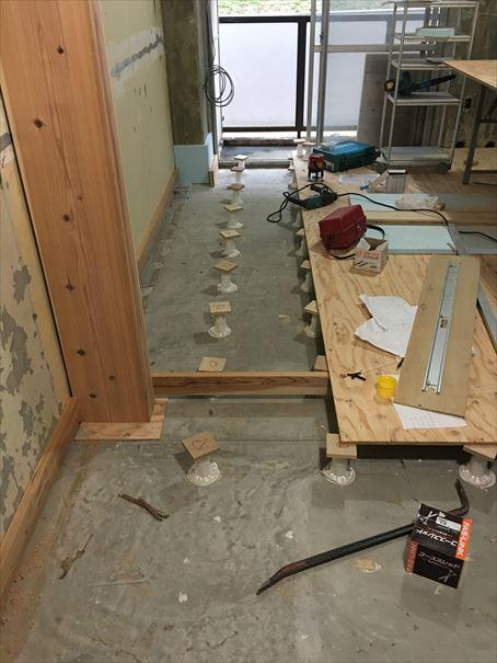 72 吹田山田 戸建てマンションリノベーション床下下地_R