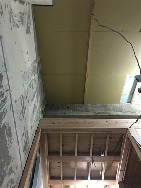 76 吹田山田 戸建てマンションリノベーション天井ボード_R